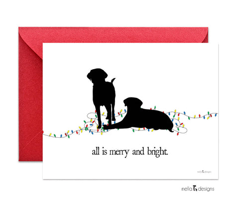 Labrador Retriever Holiday Cards