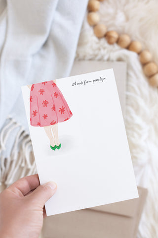 Penelope Personalized Stationery