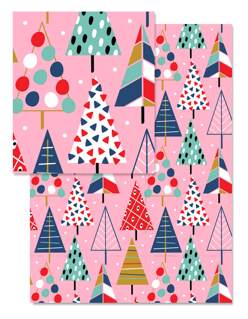 Christmas Pop Wrapping Paper