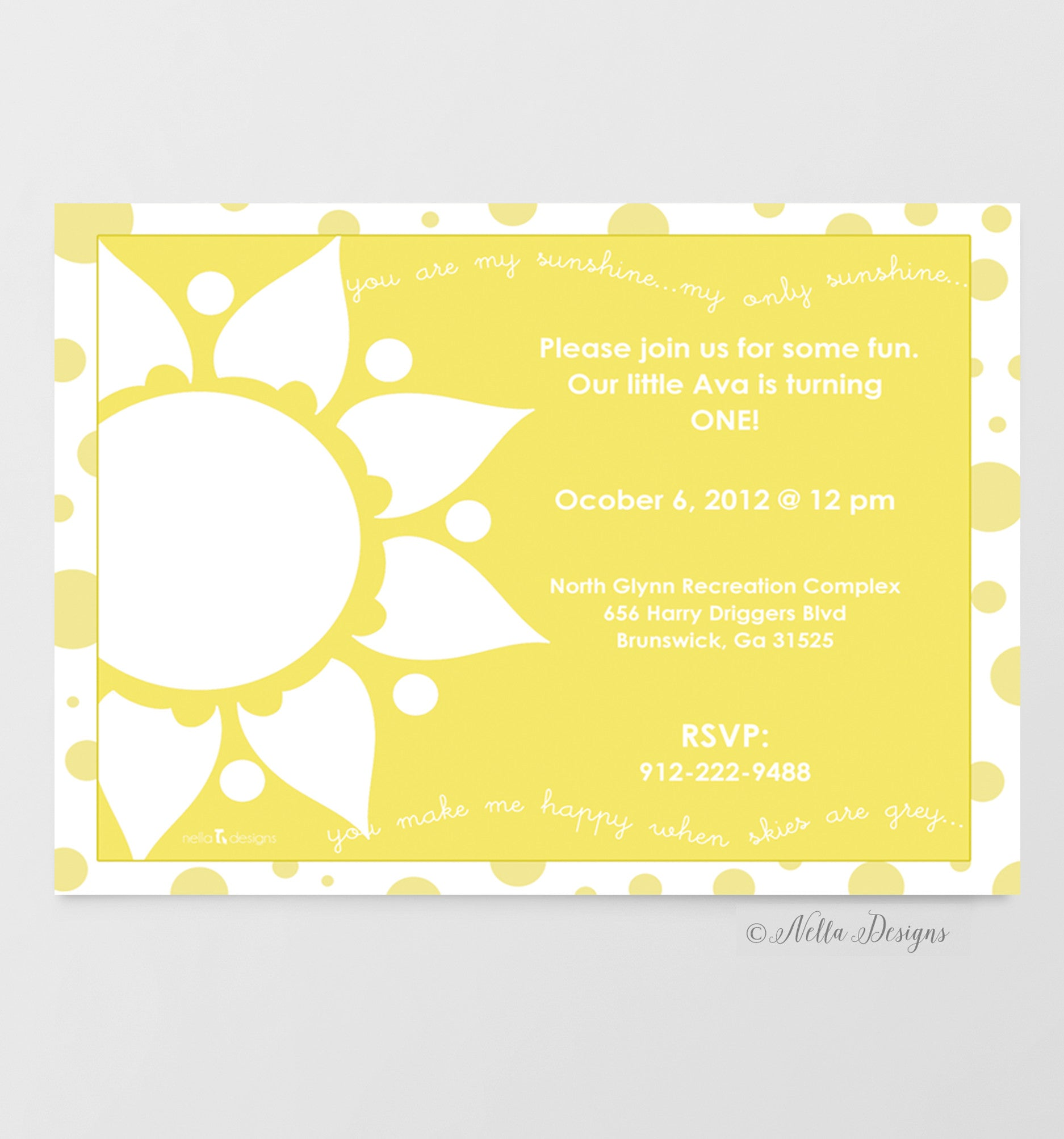you are my sunshine invitations baby shower invitations first