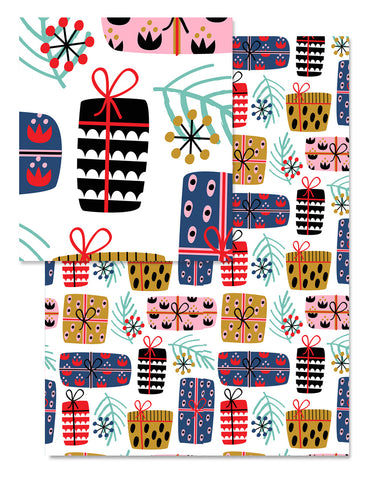 Holiday Gifts Wrapping Paper