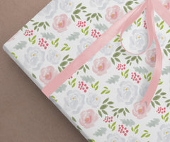 Garden Blossoms Wrapping Paper
