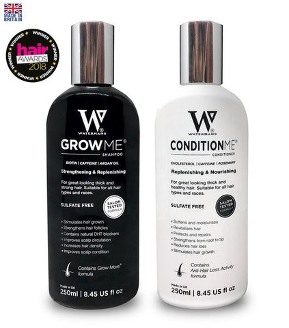 Grow Me Shampoo & Condition Me Conditioner - Best Hair loss Products