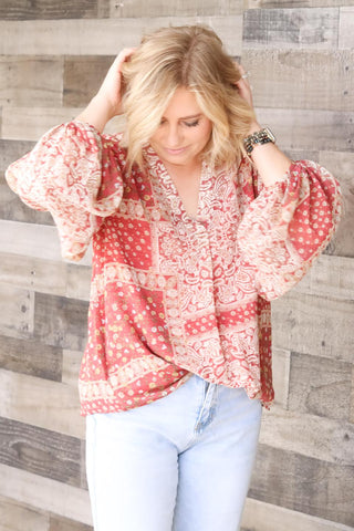 Sweet Tea Blouse