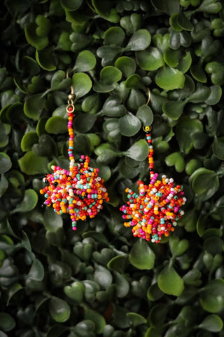 Broadway Pom Earrings
