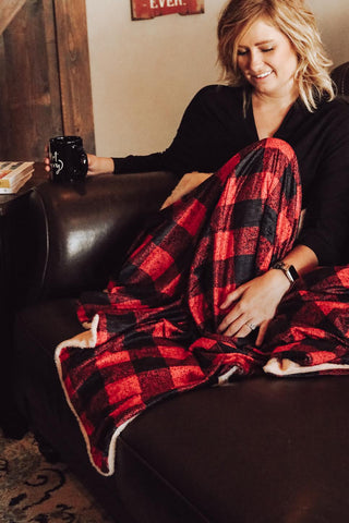 Buffalo Plaid Blanket (Deal 2)