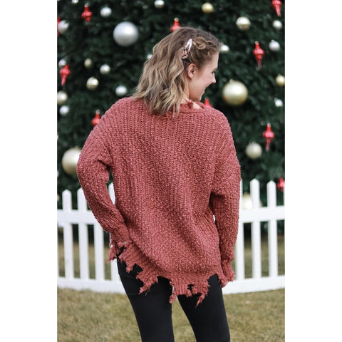 Rough Finish Sweater
