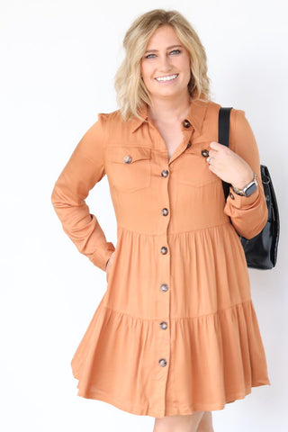 Butter Scotch Dress