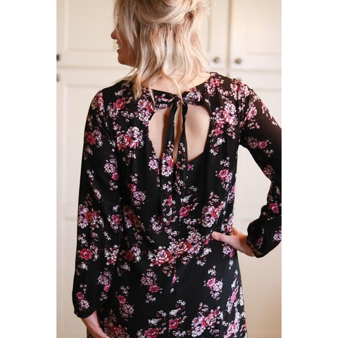 Floral Boating Dress