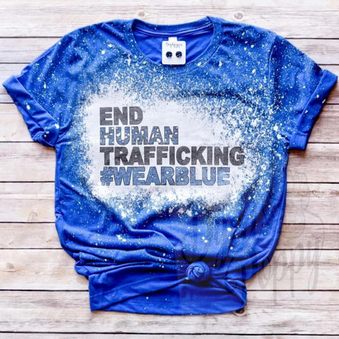 End Human Trafficking Tee-Preorder