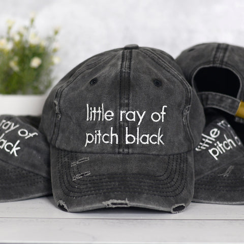 Little Ray of Pitch Black Hat