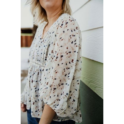 Spring Flowers Blouse