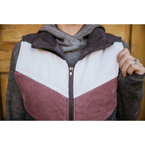 Blocking Colors Vest