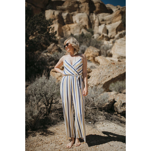 Surplus Striped Jumpsuit