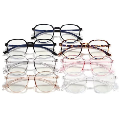 Retro Round Bluelight Glasses