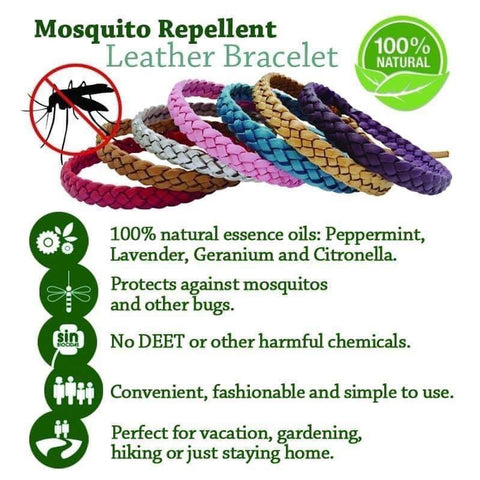Mosquito Leather Bracelet