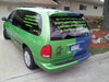 dragon wave vinyl wrap decals van