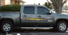 ripper yellow diamond plate tear decals on a sierra gmc truck