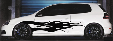 Vinyl Die Cut Vehicle Decals