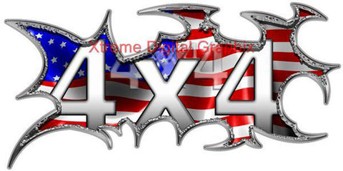 4x4 Truck Decal Stickers