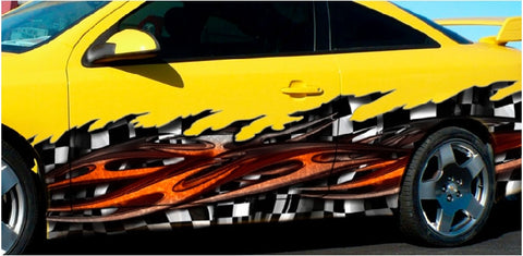 Vehicle Racing Decals