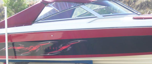 tribal boat searay decal set