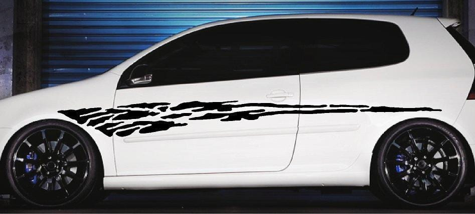 car stripe decals