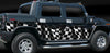 checker flag hummer side wrap