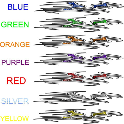 vehicle Decals multi colors