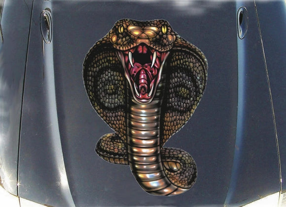 cobra snake vinyl graphics for vehicles