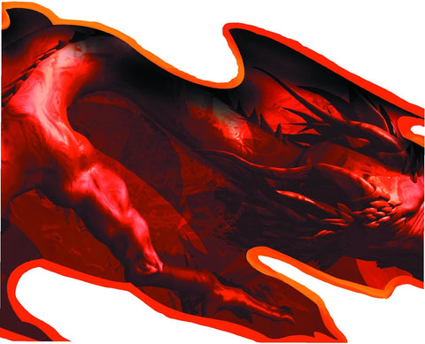 dragon vehicle decal closeup
