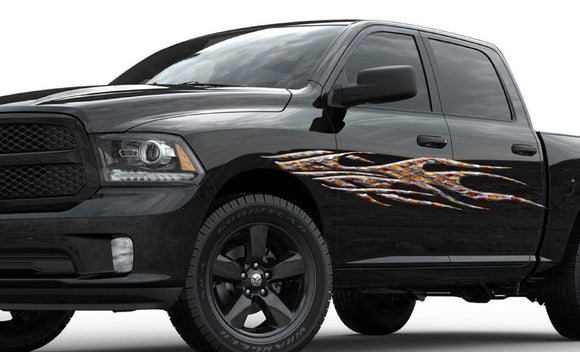 Car Racing Graphics Xtreme Digital GraphiX - Graphics for cars and trucksfull color flames graphics car truck decals truck decals