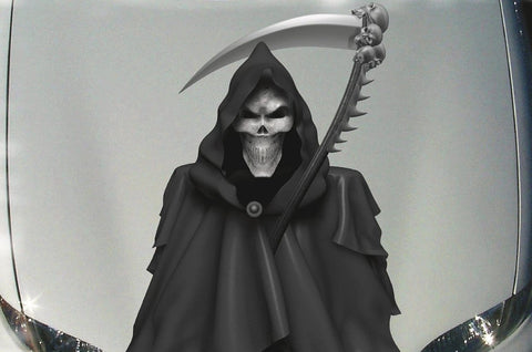grim reaper hood decal
