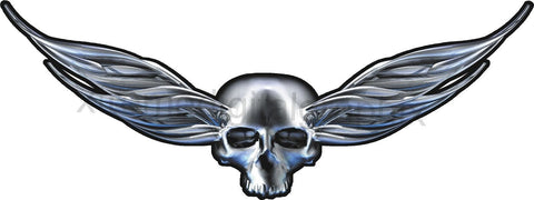 winger skull vehicle decal