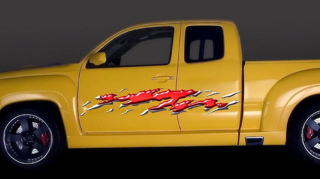 Full Color Flames Vinyl Auto Decal B Xtreme Digital GraphiX - Graphics for cars and trucksfull color flames graphics car truck decals truck decals