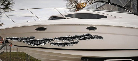 boat graphics skull tears