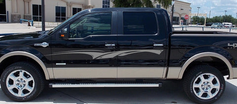 stripe truck decals 0218