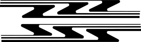 stripes hatchback decals 0326