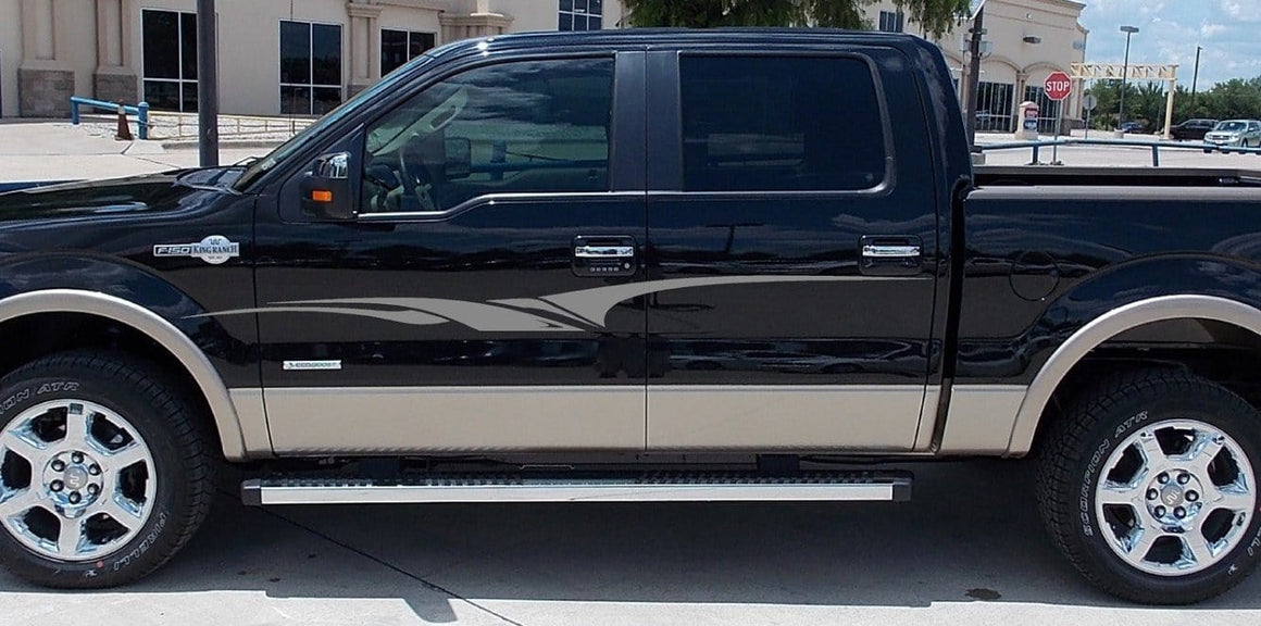 stripes truck decals 0215