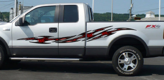 tribal truck side decals
