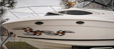 boat decal kit tribal