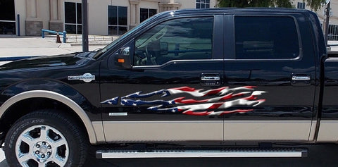 usa flag f150 graphics b891