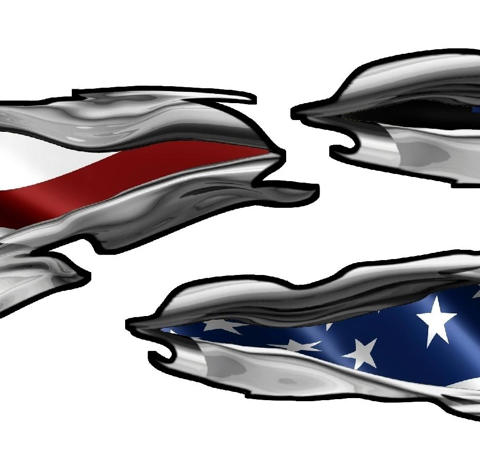 American Flag Boat Decals Usa Flag Boat Graphics Xtreme Digital - Boat decals