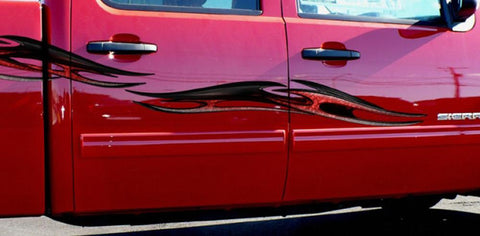truck side decals tribal