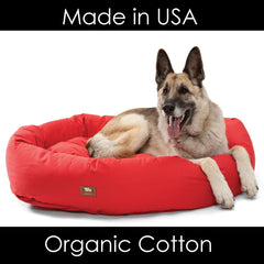 Big Wags Organic Cotton Dog Bed Machine Washable Top Rated Dog Beds