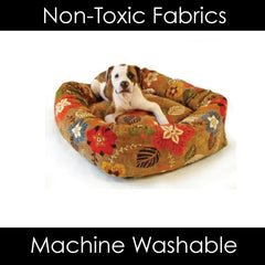 Bowser Dutchie Donut Dog Bed Machine Washable Luxury Pet Bed