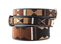 Earth: Kenyan Maasai Beaded Dog Collar