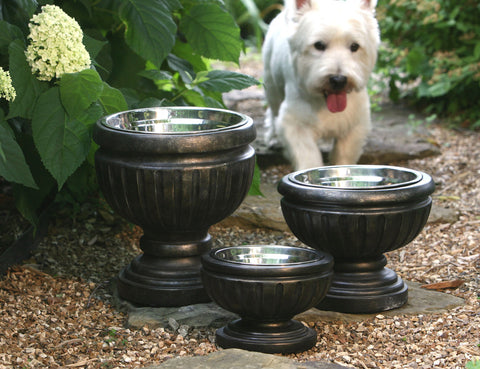 Recycled Belmont Raised Dog Bowls