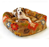 Donut (Stripes and Florals) Dog Bed