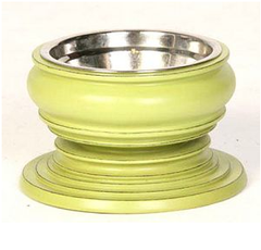 Green: Phuket Raised Dog Bowls